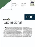 Luto nacional - artigo JN 11-mar-2011