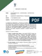 CIRCULAR TASA PRO DEPORTE 2021