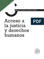 Acceso_justicia y derechos humanos