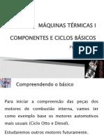 Aula 2 - COMPONENTES E CICLOS BÁSICOS