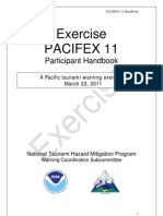 Tsunami exercise was scheduled as Pacifex11 for March 23 2011 NOAA