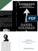Daniel Goleman - Liderazgo El Poder de La Inteligencia Emocional