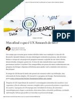 Mas Afinal o Que é UX Research de Fato_ _ by Alexandre de Campos _ Senior Sistemas _ Medium