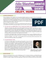 George Berkeley y David Hume Para Quinto Grado de Seundaria