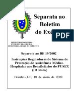 Port nº 046-DGP_26ABR02 - IR Prestação da AMH Benef FuSEx - IR30-06