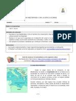 guía mar mediterraneo 8° basico