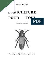 Apiculture Pour Tous Emile Warre