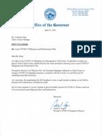 Clark County Signed Delegation Letter