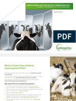 Fixed Time AI in Dairy Cattle
