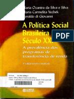 A Política Social Brasileira No Século XXI (1)