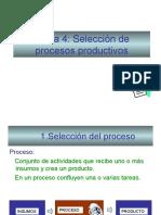 Tipos de Procesos Productivos