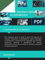 Creación de Interfaces Aplicadas a Sistemas Automotrices - tema 3
