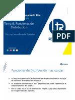 6 -Funciones de Distribución