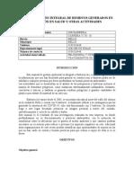 PLAN DE GESTION INTEGRAL DE RESIDUOS GENERADOS EN ATENCION EN SALUD Y OTRAS ACTIVIDADES.