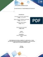 Tarea 4 _Series de potencia y trasformada de laplace_ Grupo 100412_301