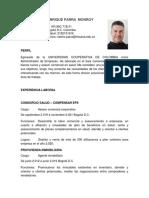 Hoja de Vida 2021 Nelson Enrique Parra Monroy