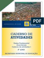 Caderno 1  5º ano-2021