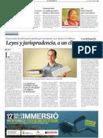 vLex en la Vanguardia