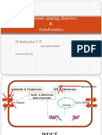 ADH &  Potassium  Sparing diuretics BDS