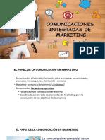 COMUNICACIONES INTEGRADAS DE MARKETING
