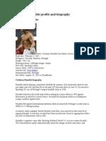 Cristiano Ronaldo profile and biography