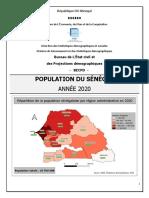 Rapport Sur La Population Du Sngal 2020 03022021 1