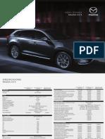 Mazda CX-9 - Ficha Tecnica
