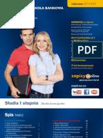 Informator 2011 - Studia I stopnia - Wyższa Szkoła Bankowa w Poznaniu