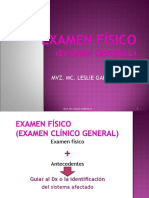 3 EXAMEN FÍSICO Constantes fisiologicas