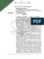 STJ - RESP 1216537 - Locação Comercial - Despejo -  Indenização Fundo de Comércio
