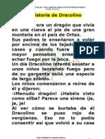 LECTURA 2º. CUENTO XXX  CICLO  LA HISTORIA DE DRACOLINO