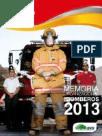 Memoria Bomberos 2013