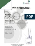 Taller  de Roles y Alcance de Funciones ( Radio Municipal Sayhueque)