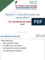 M2V6 - Exemple de Mon Opération à Lyon