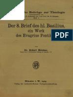 Монография По 8-Му Письму Basilii Magnae