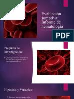 Evaluación sumativa biologia
