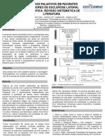 E- Poster Cuidados paliativos em pacientes portadores de Esclerose Lateral Amiotrófica
