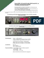 MODIFICARE STATII KF83-163-453-165-455