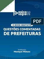 Ebook 60 Questões de Psicologia CONCURSOS PSI PSICOLOGIA NOVA