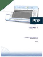 Radan7UserManual
