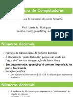 03 - Aritmética de números de ponto flutuante