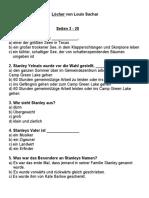 Löcher - Louis Sachar Fragen.docx