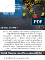 Boraks Formalin