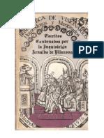 Escritos Condenados Arnau de Vilanova