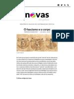 O fascismo e o corpo - Novas da Galiza