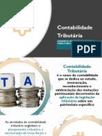Nota de aula substituição tributária, tributos diretos e indiretos e Regimes tributários