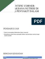 SCIENTIFIC CORNER NUTRISI