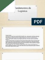 workshop Fundamentos da Logística