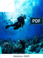 Girl Scuba Diver Diving on 260nw 654264571