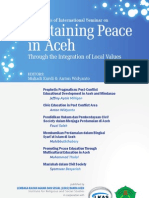 Sustaining Peace in Aceh